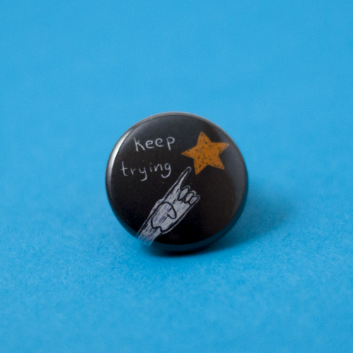 front view of try button